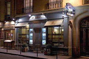 Paris Cafe II by Rita Crane