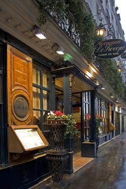 Paris Cafe IV by Rita Crane