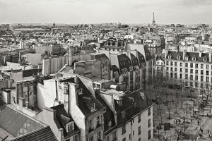 Paris Rooftops VII by Rita Crane
