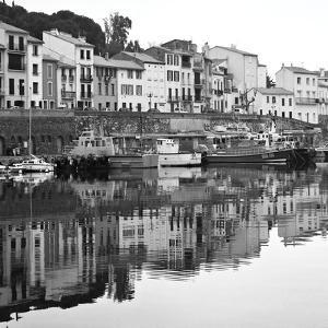 Port Vendres BW by Rita Crane