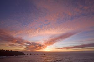 Sunset Sky I by Rita Crane