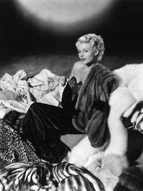 """Rita Hayworth """"The Lady From Shanghai"""" 1947, Directed by Orson Welles. Custome by Jean Louis"""