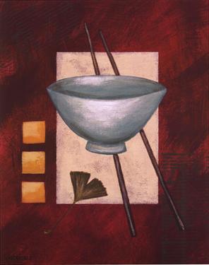 Oriental Dining II by Rita Vindedzis