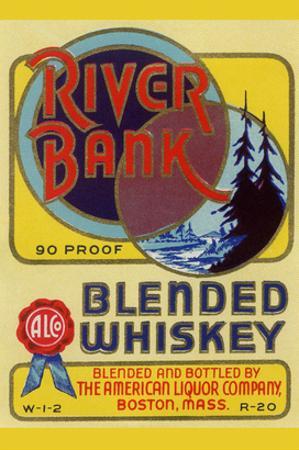 River Bank Blended Whiskey
