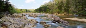 River flowing through rocks, Black river, Missouri, USA