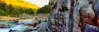 River flowing through rocks, Black River, St. Francois County, Missouri, USA