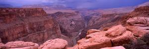 River Passing Through a Canyon, Toroweap Overlook, North Rim, Grand Canyon National Park, Arizona