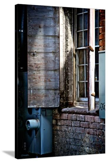 River Walk Window-Elizabeth St^ Hilaire Nelson-Stretched Canvas Print