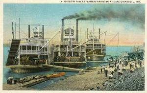 Riverboats, Cape Girardeau, Missouri