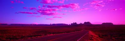 Road Monument Valley Ut USA