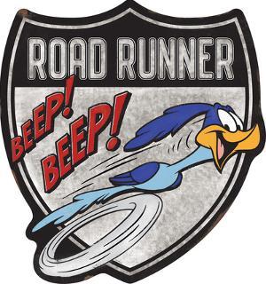 Road Runner Beep Beep Metal Sign