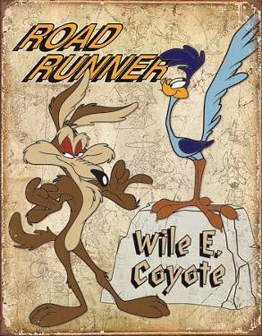 Road Runner & Wyle E Coyote