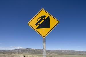 Road Sign in Patagonia, Argentina