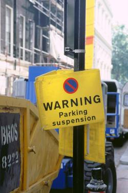 Road sign.London 1998