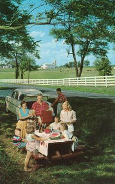 Roadside Family Picnic