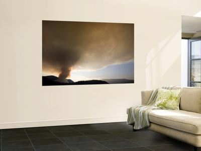 Forestry Burning, Weld Valley by Rob Blakers