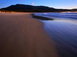 Shoreline Maria Island National Park, Tasmania, Australia by Rob Blakers