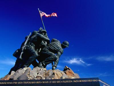 Statue at Arlington National Cemetery Arlington, Virginia, USA by Rob Blakers