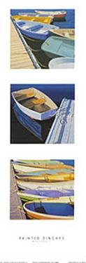 Painted Dinghies by Rob Brooks