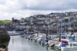 Brixham Harbour and Marina, Devon, England, United Kingdom, Europe by Rob Cousins