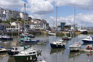 Brixham Harbour, Devon, England, United Kingdom, Europe by Rob Cousins