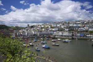 Brixham Harbour, Devon, England, United Kingdom, Europe by Rob Cousins
