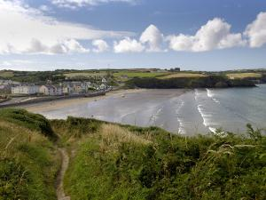 Broad Haven on the Pembrokeshire Coast Path, Pembrokeshire, Wales, United Kingdom by Rob Cousins
