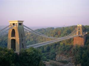 Clifton Suspension Bridge, Built by Brunel, Bristol, Avon, England, United Kingdom (U.K.), Europe by Rob Cousins