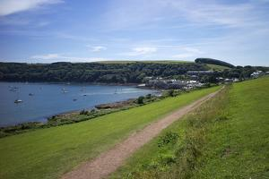 Coast Path to Kingsand and Cawsand, Rame Peninsula, Cornwall, England, United Kingdon, Europe by Rob Cousins