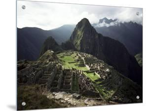 Inca Site, Machu Picchu, Unesco World Heritage Site, Peru, South America by Rob Cousins