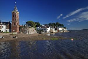 Peters Tower, the Harbour, Lympstone, Exe Estuary, Devon, England, United Kingdom, Europe by Rob Cousins