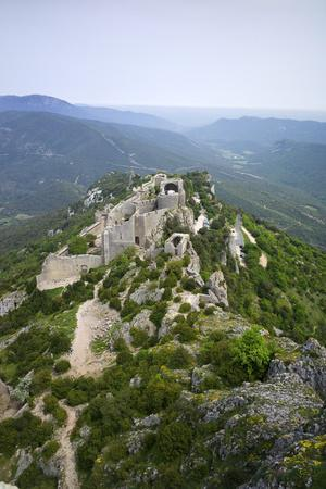 Peyrepertuse Cathar Castle, French Pyrenees, France