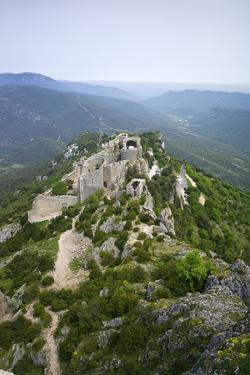 Peyrepertuse Cathar Castle, French Pyrenees, France by Rob Cousins
