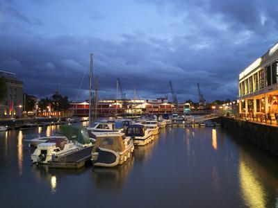 St. Augustine's Reach, Harbour, Bristol, England, United Kingdom, Europe