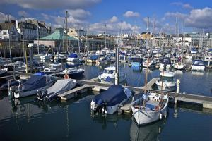 Sutton Harbour Marina, Plymouth, Devon, England, United Kingdom, Europe by Rob Cousins