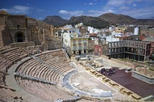 The Roman Theatre, Cartagena, Spain by Rob Cousins