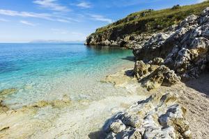 Lovely Limestone Cove at Zingaro Nature Reserve Near Scopello by Rob Francis