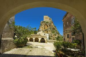 Old Tower and Buildings at the Tonnara Di Scopello by Rob Francis