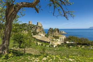 Old Towers and Buildings at the Tonnara Di Scopello by Rob Francis