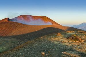 Smoking 700M Wide Crater of Volcan Telica in the North West Volcano Chain by Rob Francis