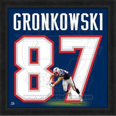 Rob Gronkowski, Patriots representation of the player's jersey