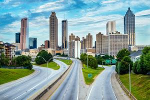 Atlanta Downtown Skyline by Rob Hainer
