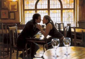 First Kiss by Rob Hefferan