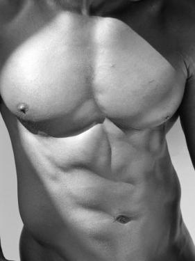 Muscular Shot of Male Chest and Stomach by Rob Lang