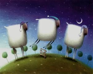 Insomniac Sheep by Rob Scotton