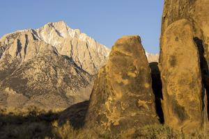 Lone Pine Peak, Eastern Sierras, Alabama Hills, Lone Pine, California by Rob Sheppard