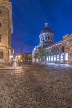 Canada, Quebec, Montreal, Old Montreal at Dawn by Rob Tilley