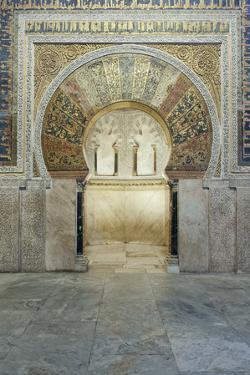 Catedral Mosque of Cordoba, Interior, Cordoba, Andalucia, Spain by Rob Tilley