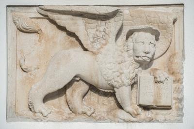 Croatia, Dalmatia, Hvar Town, St. Mark's Lion by Rob Tilley
