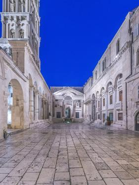 Croatia, Split, Diocletians Palace at Dawn by Rob Tilley